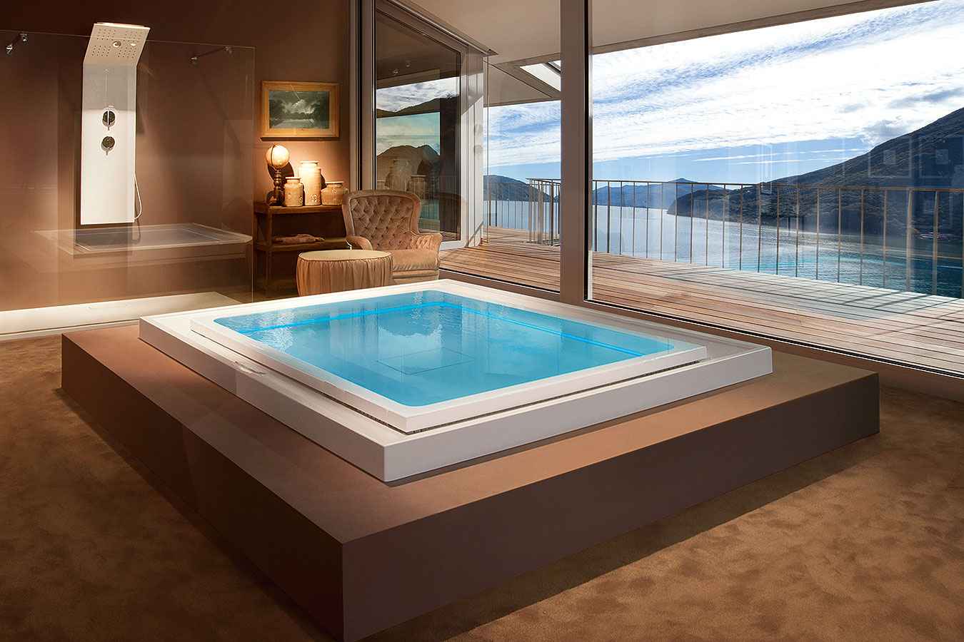 Mini piscine igan style - Cabine doccia multifunzione albatros ...