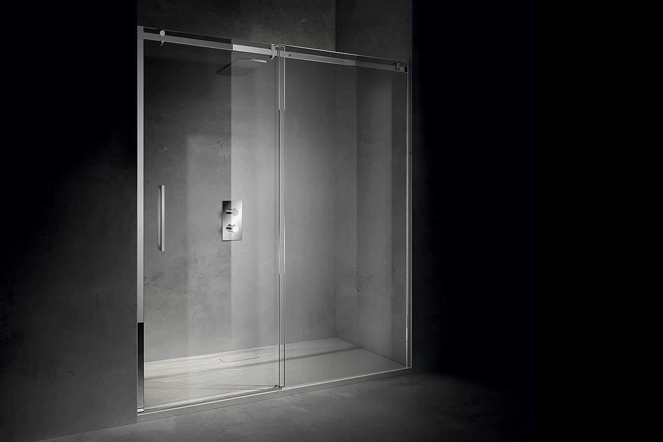 Box doccia igan style - Chiusura doccia scorrevole ...