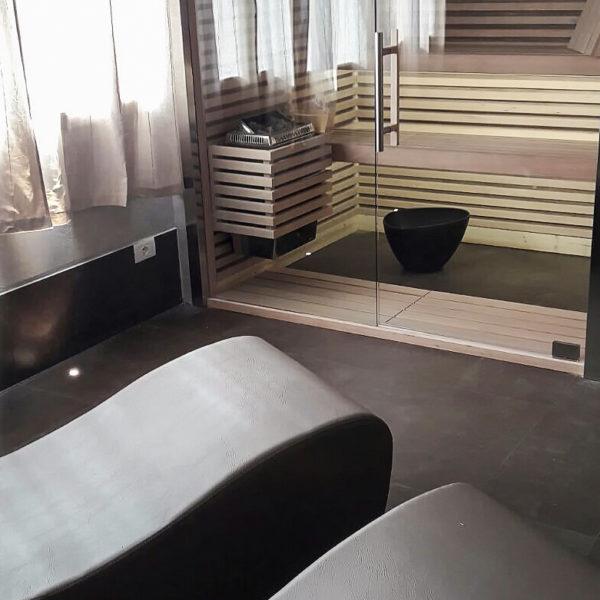 Sauna+chaise-longue