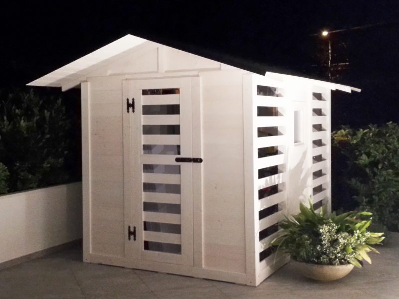 casetta con sauna